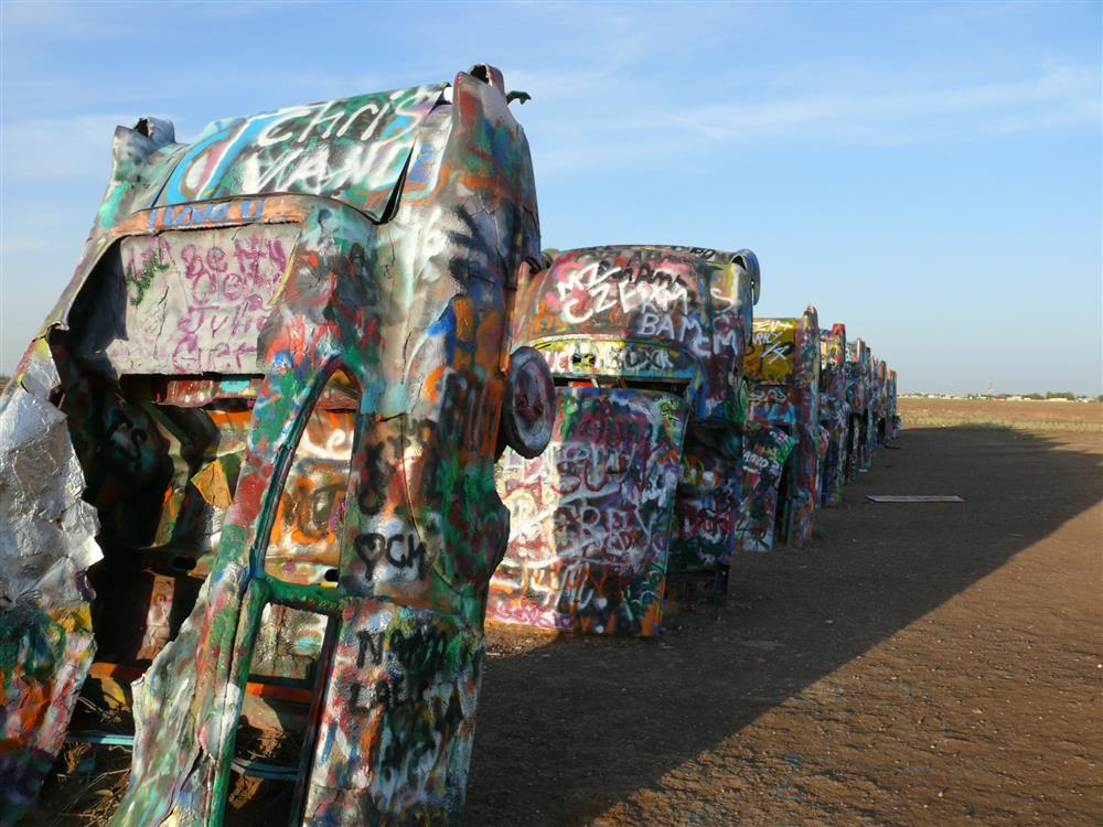 Cadillac Ranch - Ruta 66