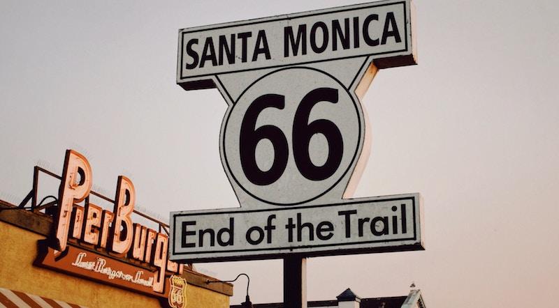 Ruta 66 final del trayecto
